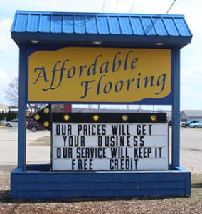 Affordable Flooring of Cadillac Michigan